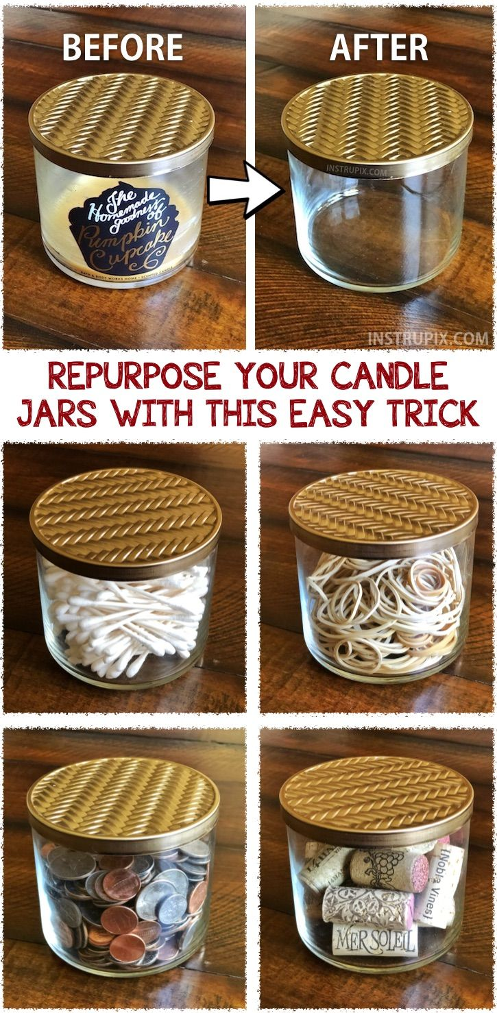 Best Diy Life Hacks Crafts Ideas How To Get Wax Out Of Candle