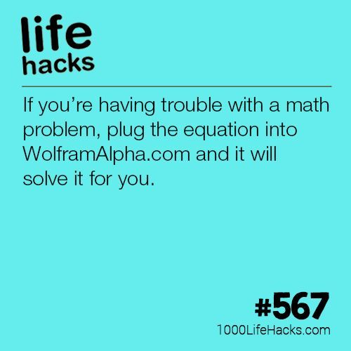 Instantly Solve ANY Math Problem | 1000 Life Hacks | Bloglovin'