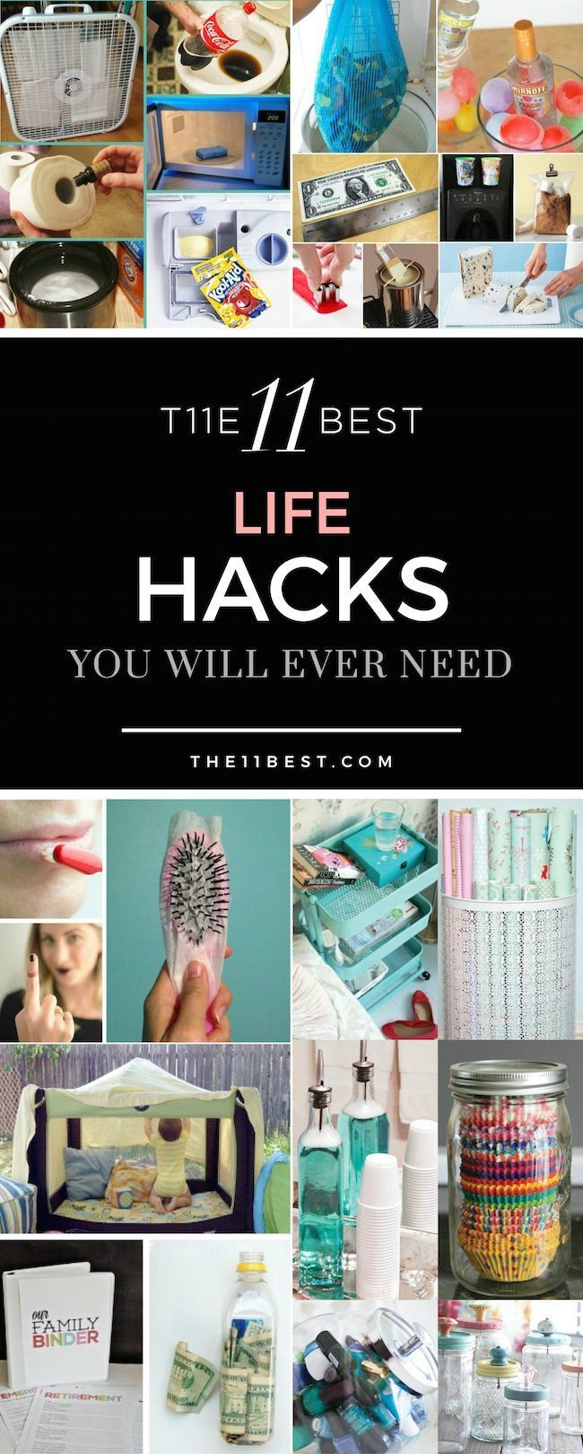 The 11 Best Life Hacks You Will Ever Need! A DIY idea for every part of your hom...