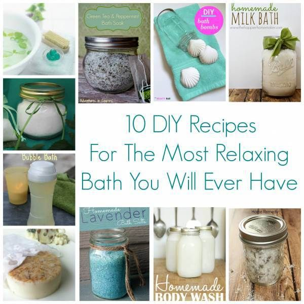 10 DIY Recipes For The Most Relaxing Bath You Will Ever