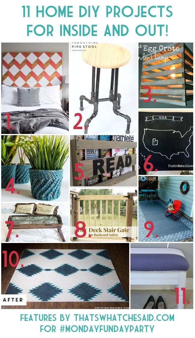 11 Home Projects at thatswhatchesaid.com
