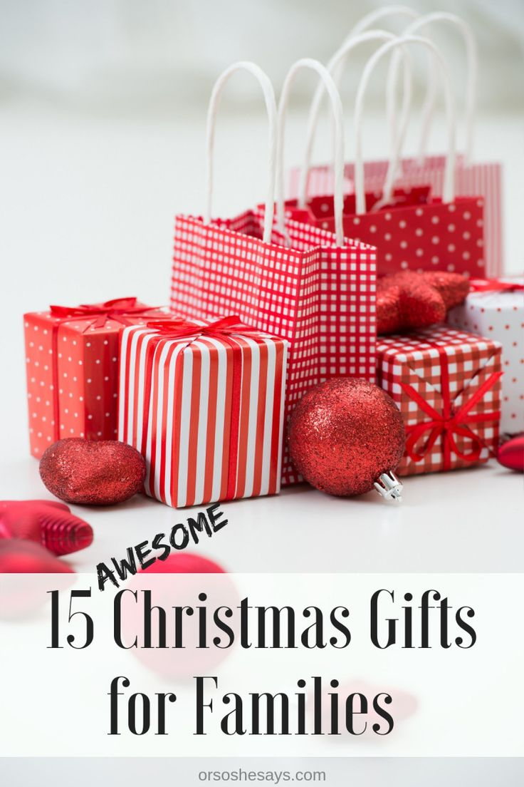 15 AWESOME Christmas gifts for families on www.orsoshesays.com #christmas #gifts...