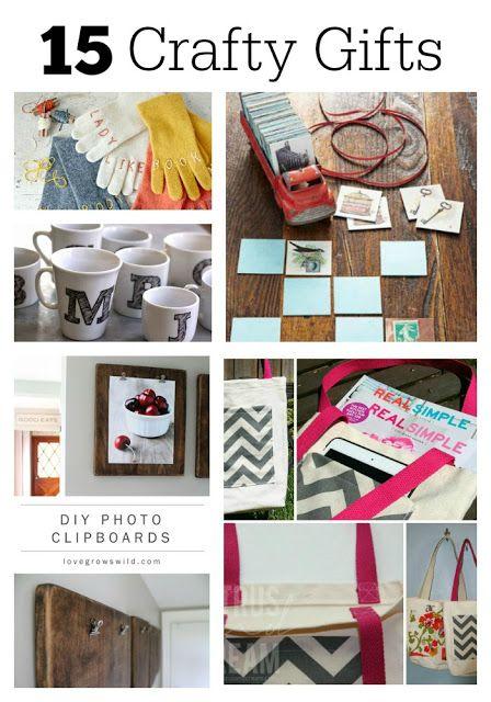 15 Crafty Gift Ideas