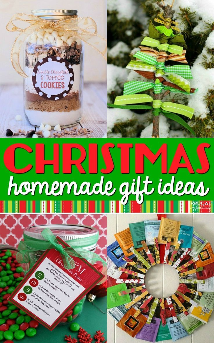Diy Crafts 31 Homemade Christmas Gift Ideas Cute Diy Christmas