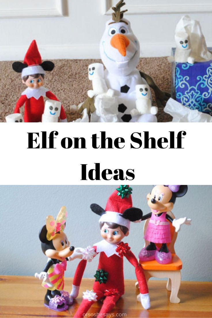 Adelle has put a spin on a popular Christmas tradition and is sharing Elf on the...