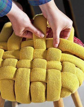 Alternative Stool Upholstery Idea - Leroy Merlin