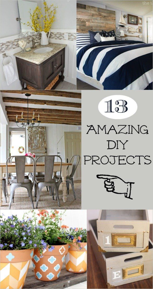 Bloggers come up with the best stuff! 13 amazing DIY projects from complex room ...