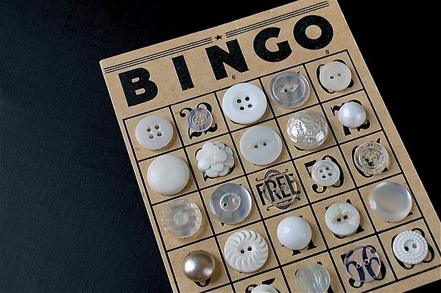 Button bingo.