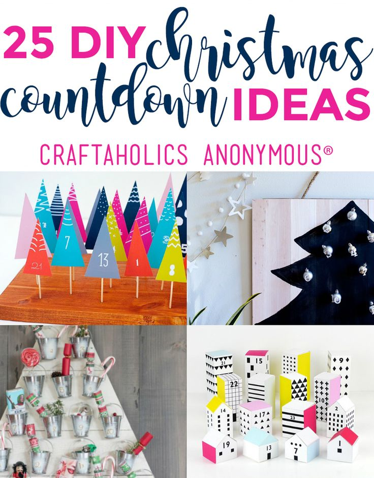 Christmas advent calendar countdown activities ideas and crafts