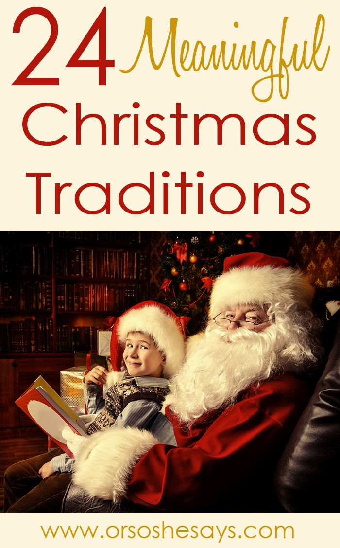 Christmas traditions are so fun and so important! They build unity, love, and ad...