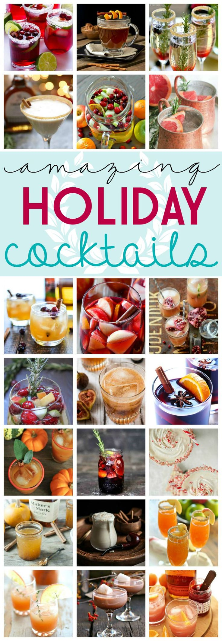 Holiday, Thanksgiving, and Christmas Cocktail Recipes on Frugal Coupon Living. E...