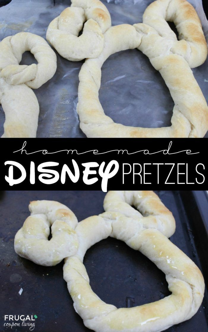 Homemade Disney World Mickey Mouse pretzels. This copycat recipe is just like th...