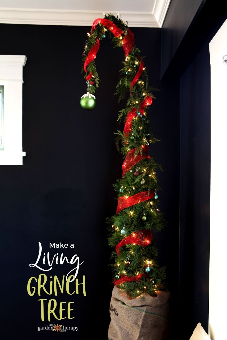 Diy Crafts How To Make A Nine Foot Living Grinch Tree Quirky