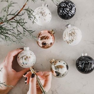 I can't stop making these ornaments! A hallmark movie and lettering endless or...