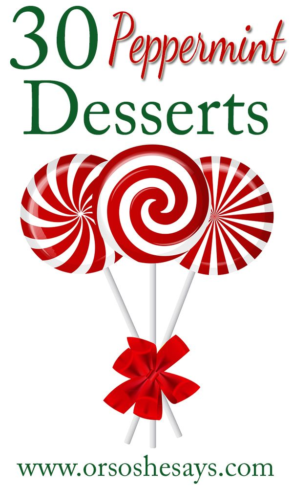 One of my most favorite things about Christmas is all the peppermint desserts! I...