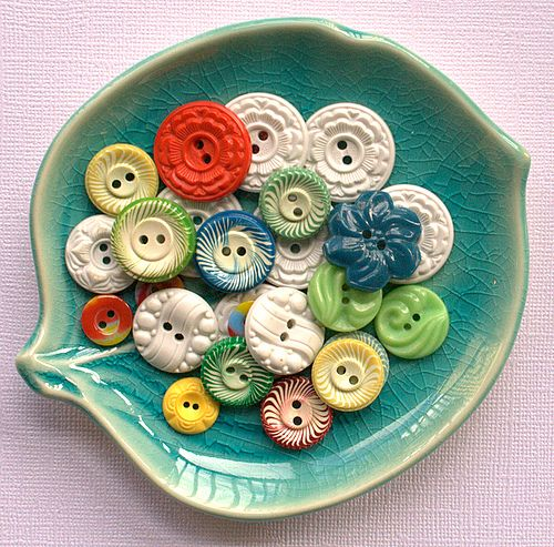 Pretty collection of buttons.