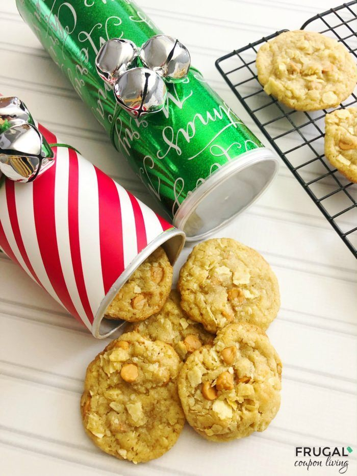 Pringles Can Craft and Pringles Potato Chip Cookie Recipe | DIY Christmas Gift...