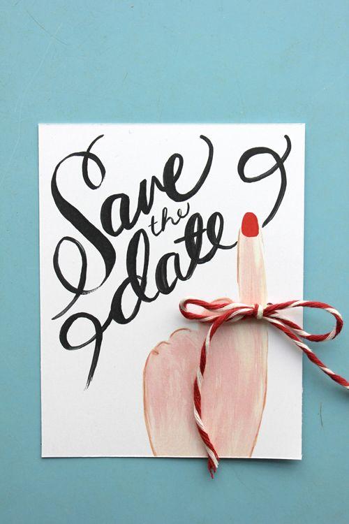 Save the date printable.