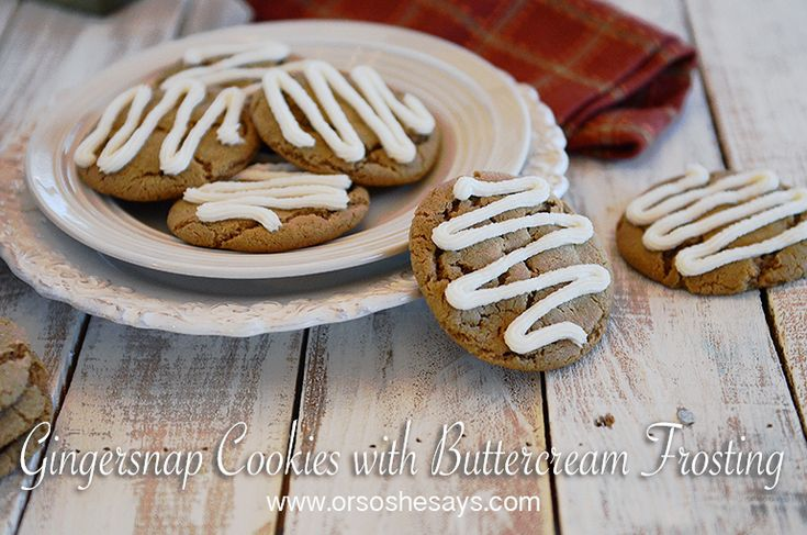 These Gingersnap Cookies are out of this world!  They're soft, chewy, and the ad...