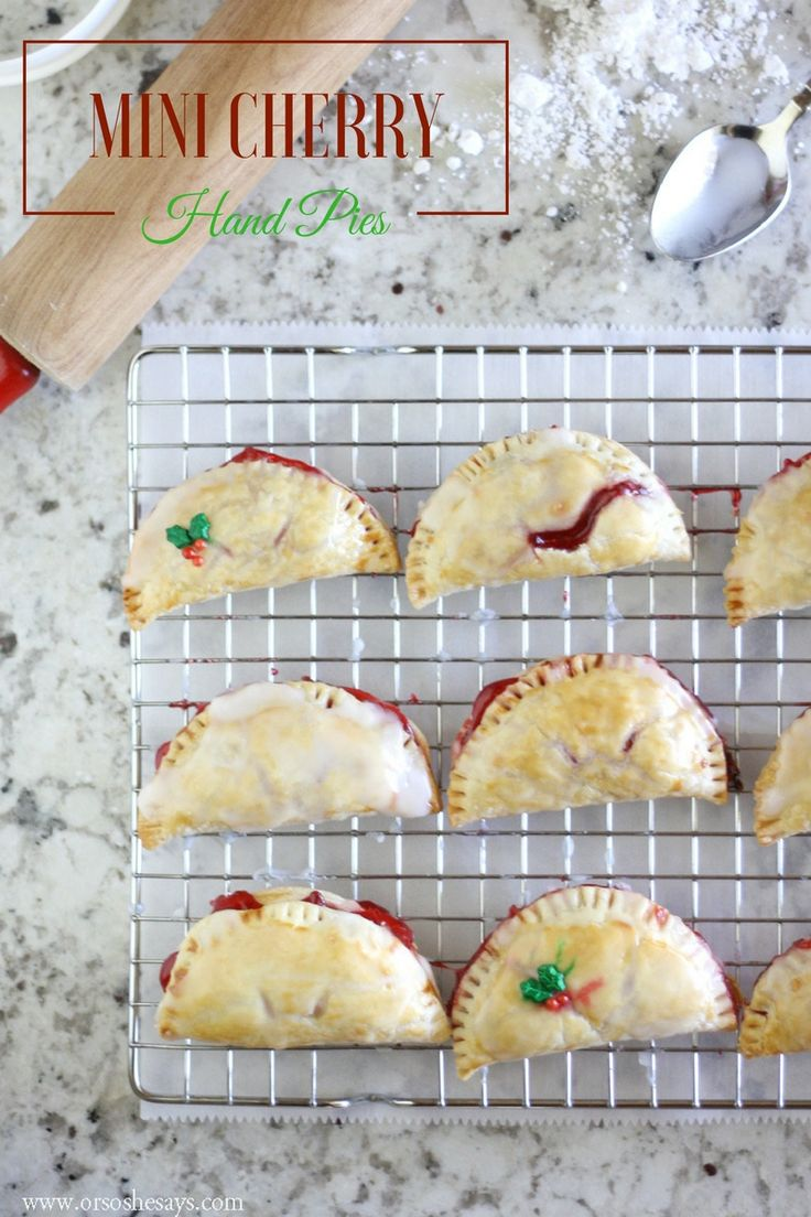 This mini cherry pie recipe is a perfect dessert for any holiday gathering. Plus...