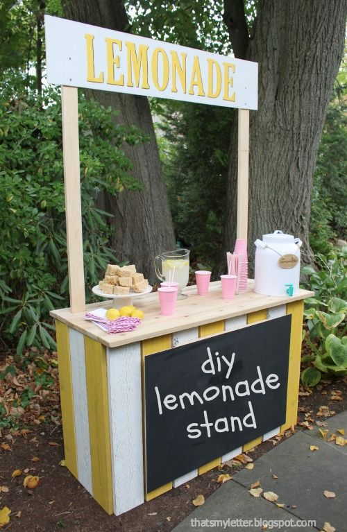 DIY Crafts : diy lemonade stand - DIYall net | Home of DIY & Craft