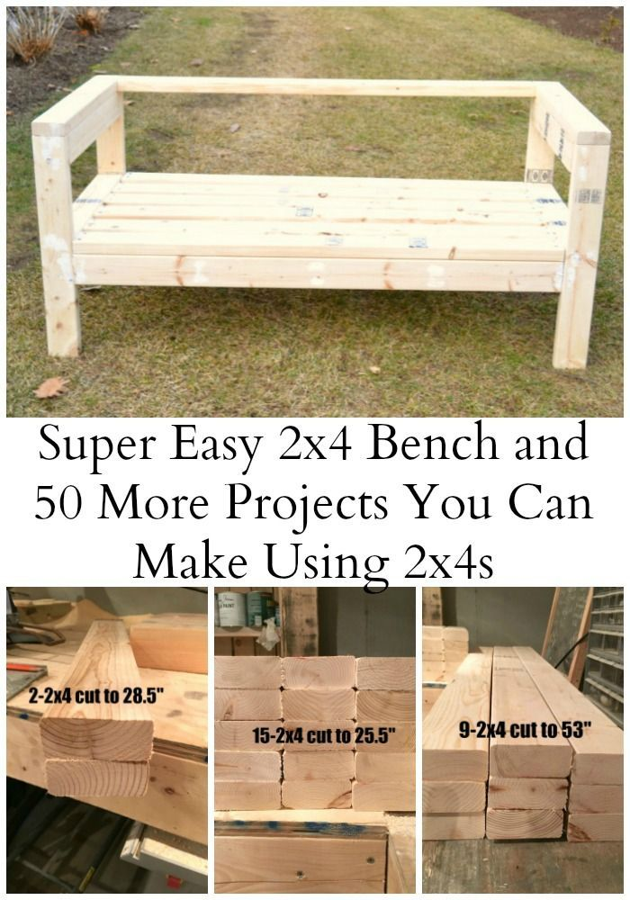 12 2x4 boards can equal one awesome outdoor sofa | Part one of another favorite ...