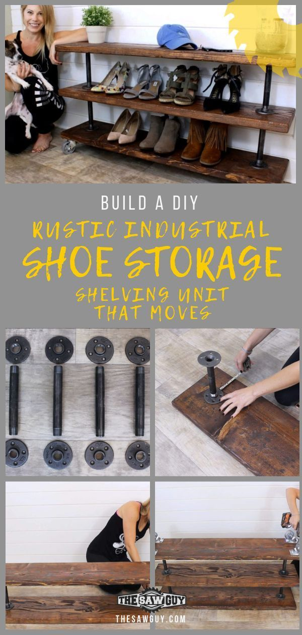 In need of more space for your shoe collection? Check out our simple tutorial on...