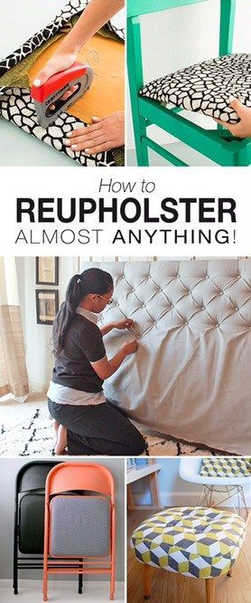 Learn How To Reupholster Anything Seriously, I could send my kid to a semester o...