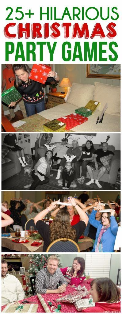 Looking for Christmas party ideas? These 25 Christmas party games are perfect fo...