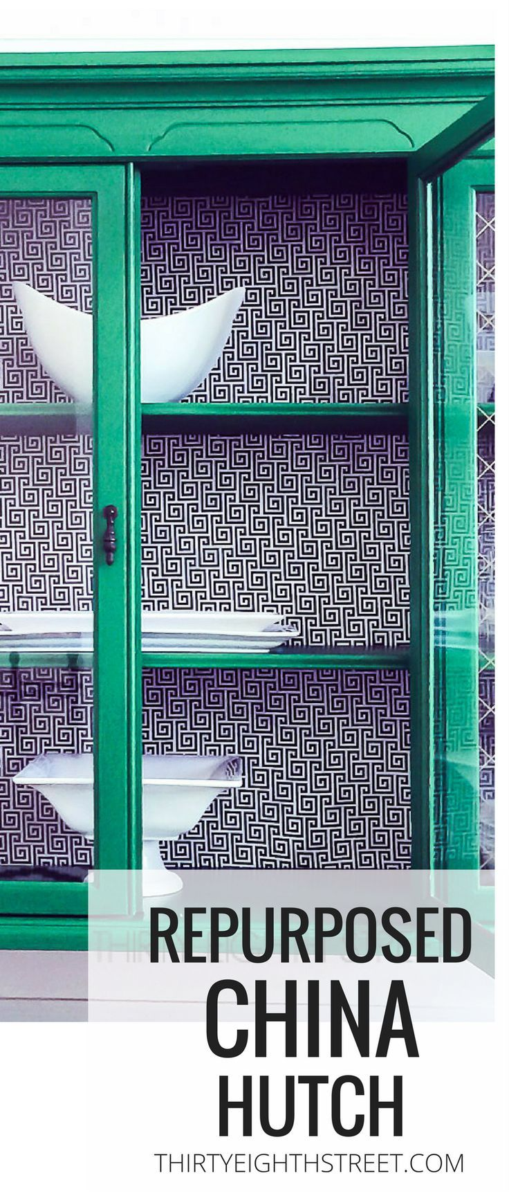 Diy Furniture Repurposed And Painted China Hutch Cabinet Green Painted China Hutch With Modge Diyall Net Home Of Diy Craft Ideas Inspiration Diy Projects Craft Ideas How