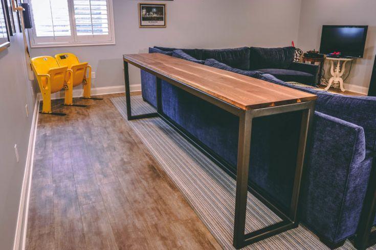 Sofa Table Detail Shot #woodworking #diy #Furniture #Woodworkingtools #Woodworki...