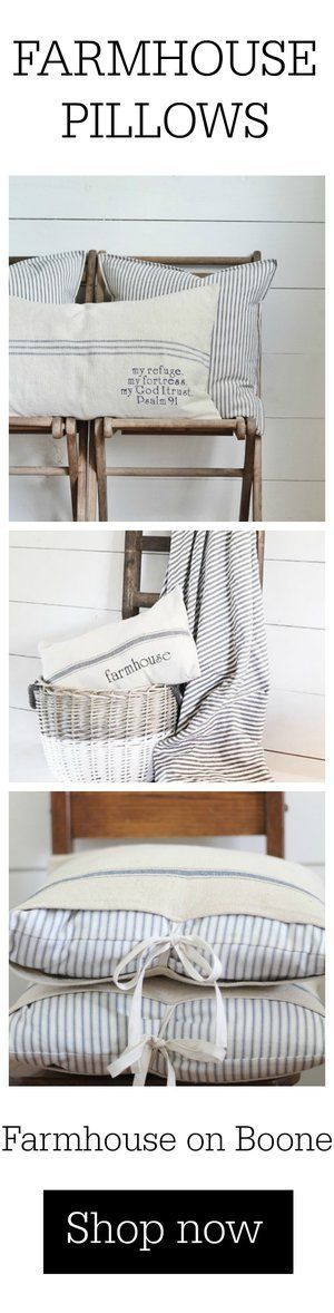 These great farmhouse pantry ideas can be used to give farmhouse style to any pa...