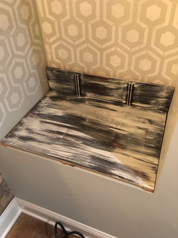 What do you do when you have an unattractive dresser from the 70's and a blank e...