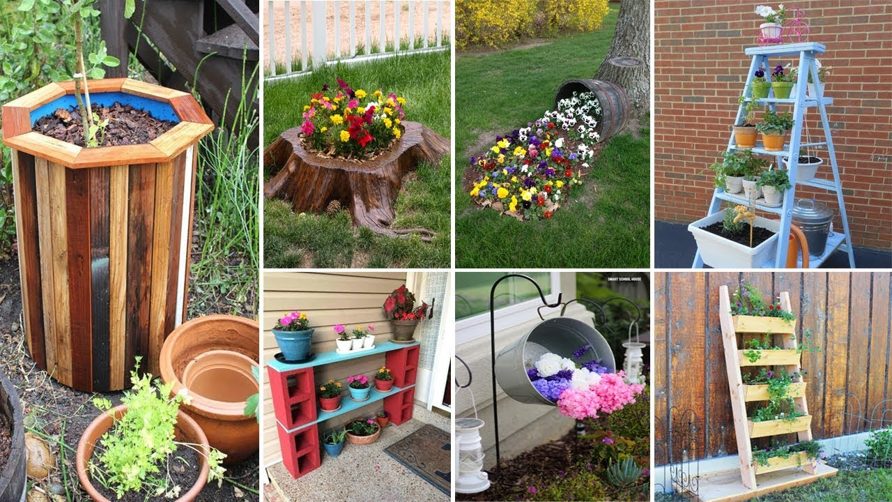 DIY Projects Video: 11 Cheap and Easy DIY Garden Ideas - DIYall