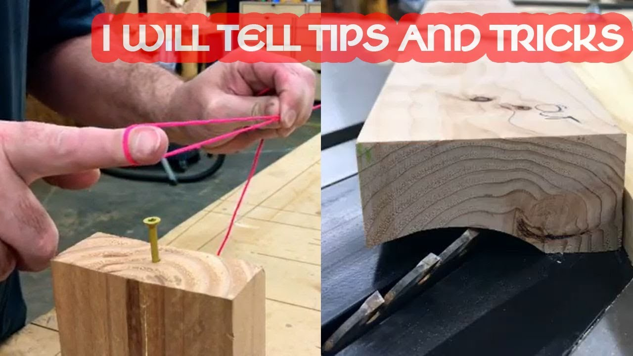 Diy Projects Video 50 Woodworking Tips And Tricks For Beginners Perfect Projects Explain How To Do It Fw Channel Diyall Net Home Of Diy Craft Ideas Inspiration Diy