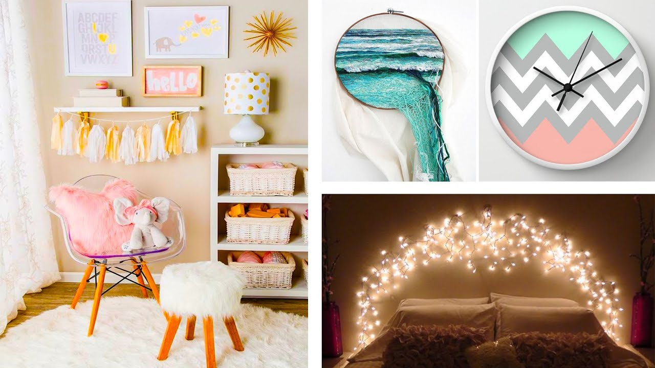 DIY Projects Video: DIY ROOM DECOR! 6 Easy Crafts Ideas at ...