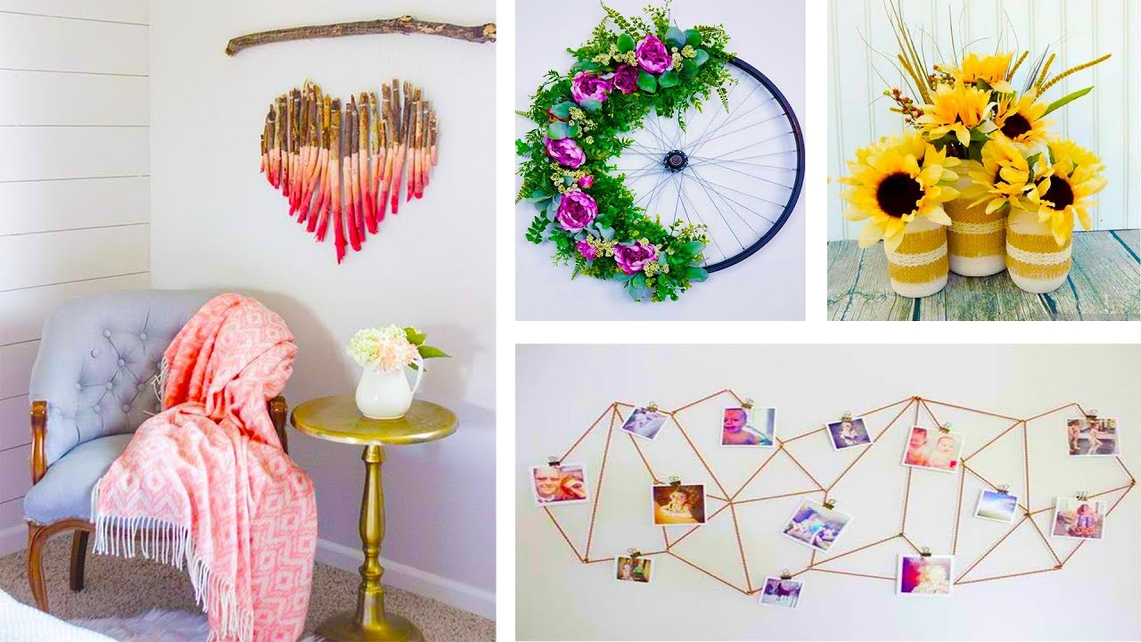 Diy Projects Video Diy Room Decor 7 Easy Crafts Ideas At Home 13