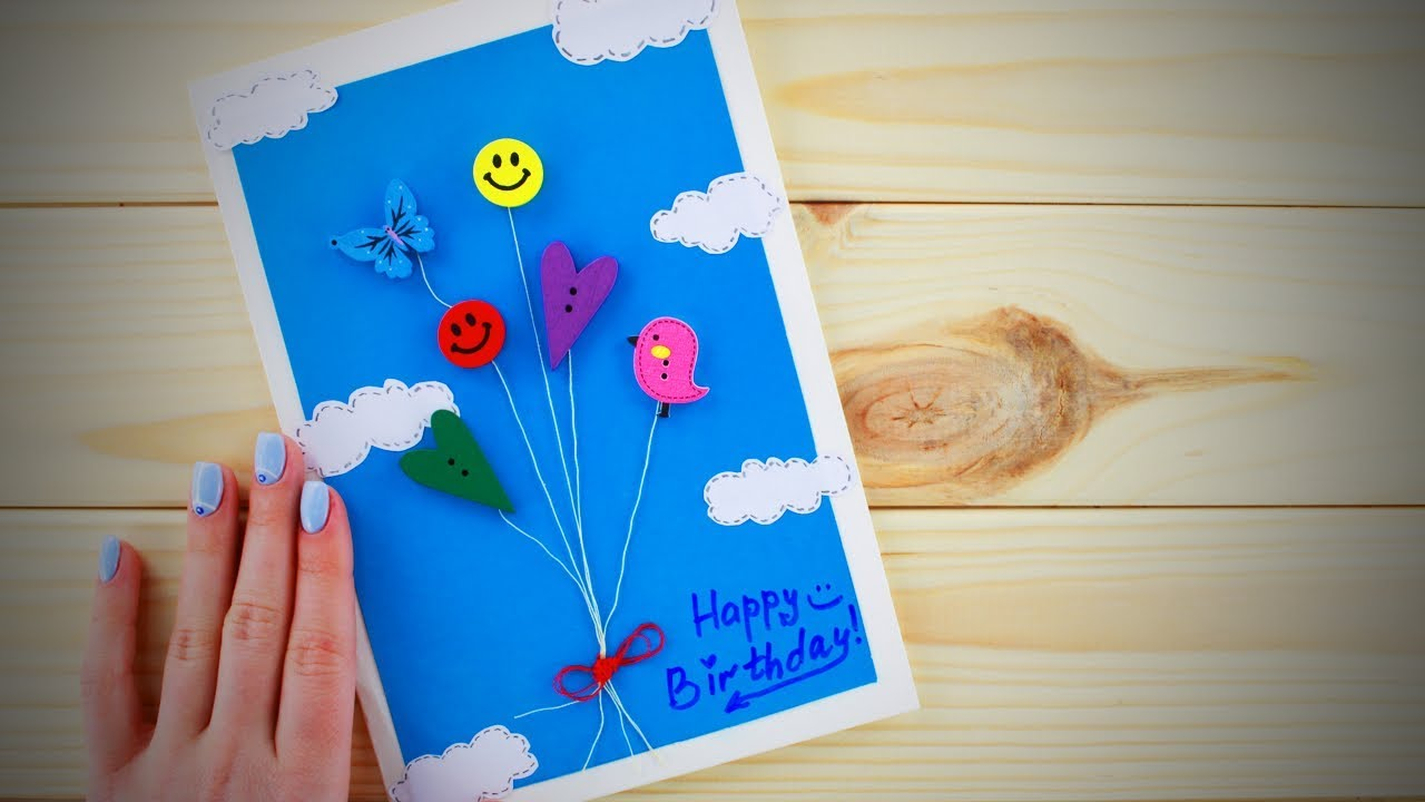 DIY Projects Video Do It Yourself Gifts Easy Birthday Card Ideas Life Hacks