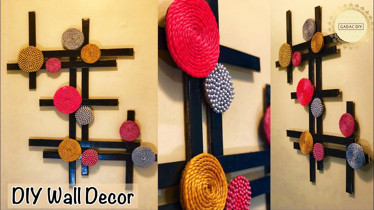 Diy Projects Video Very Unique Wall Hanging Gadac Diy Wall
