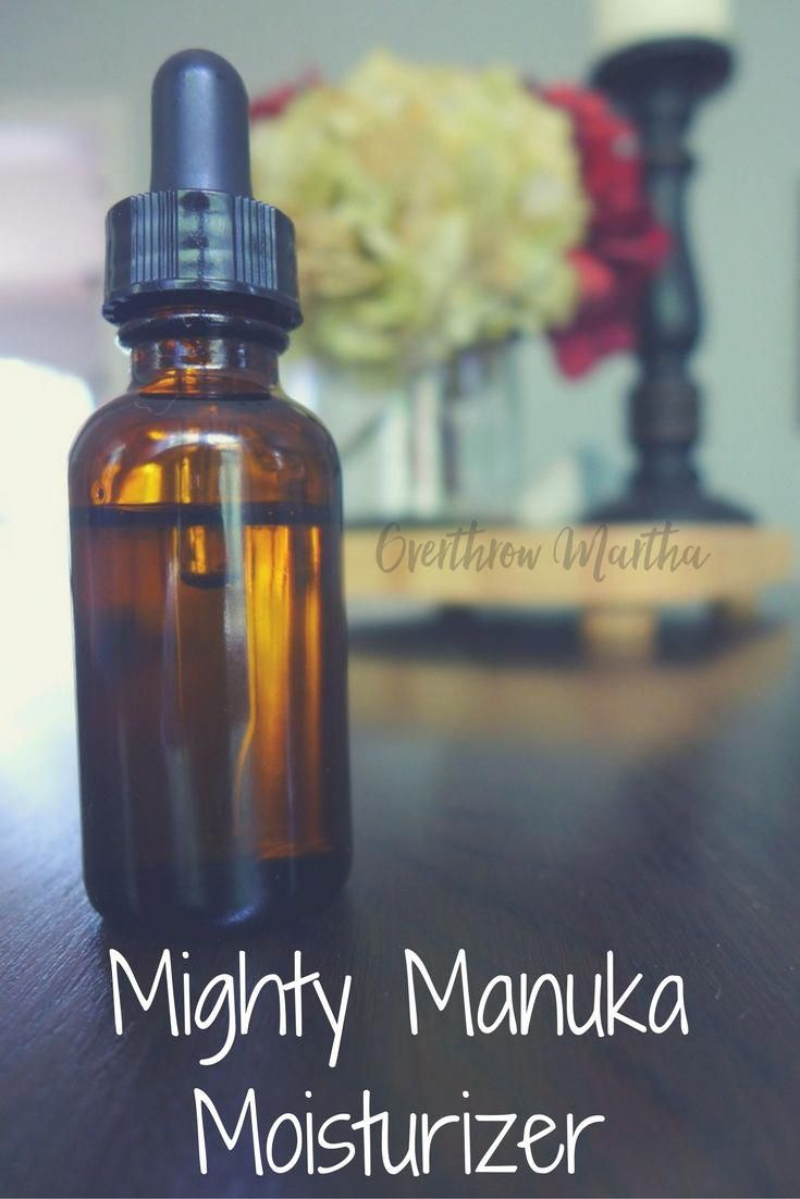 Dry Skin DIY for cooler weather and drier climates: Mighty Manuka Moisturizer #s...