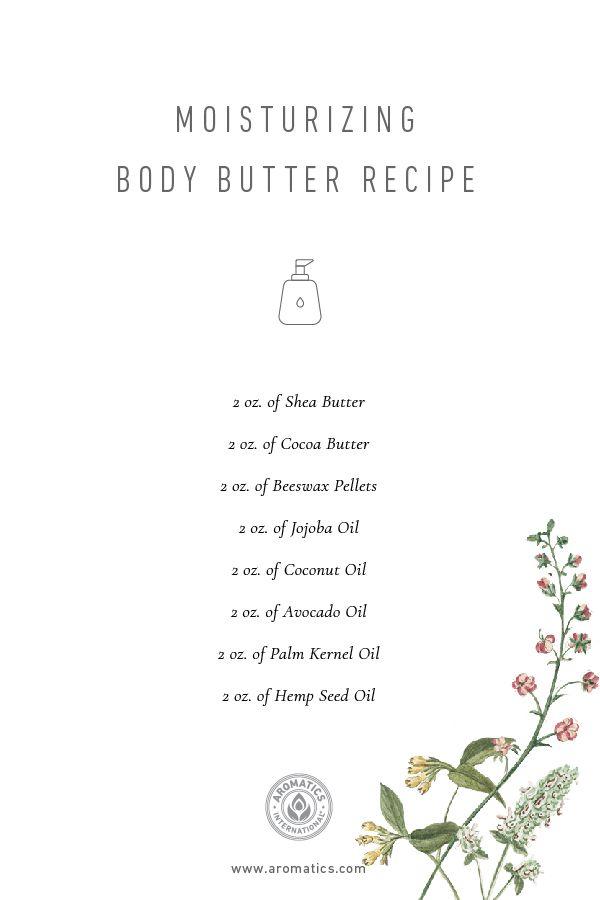Moisturizing Body Butter Recipe
