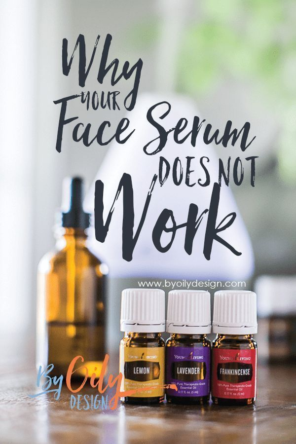 My face serum wasn't working as well as I thought it should. Then I researched a...