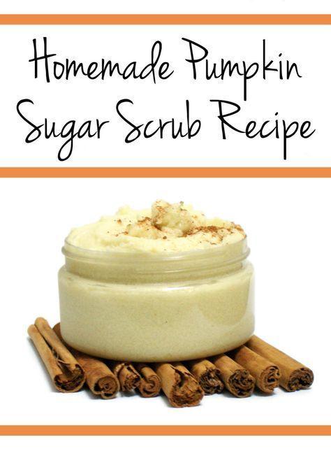 Fall Beauty DIY for a Homemade Pumpkin Sugar Scrub Recipe