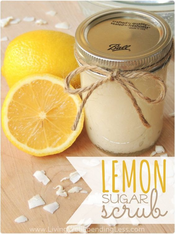 Homemade Sugar Scrub Recipe   How to Make Your Own Sugar Scrub 1C sugar 1/4 C co...