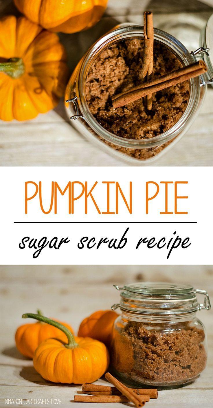 Sugar Scrub Recipe: Pumpkin Pie Spice; Maybe add some essential oils, like the P...