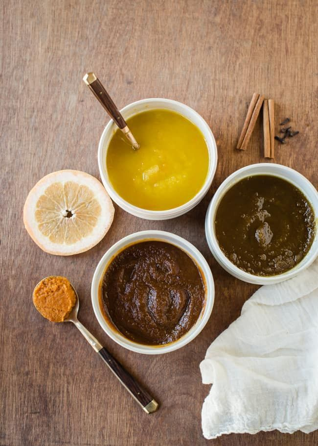 Whip up three fall themed DIY body scrubs that will slough off the dry skin of