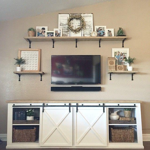 Tv Stand Designs Diy : Diy tv stand ideas : ana white build a grandy sliding door console