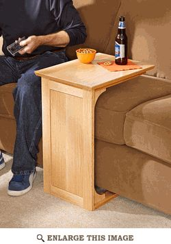 Exactly what ive been looking for! Sofa Server Woodworking Plan.... great for a ...