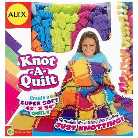 Alex Knot-A-Quilt Kit - 1 ea.
