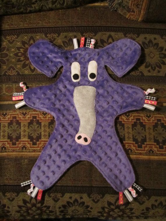 Animal Security Blanket by RaynaMarian on Etsy, $25.00